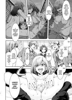 É Verdade Que Aquela Estudante Transferida Está Devorando os Idols Principais da Academia Yumenosaki!? - Foto 9